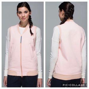 Lululemon Departure Vest Parfait Pink, Size 10